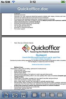 qw 1 - QuickOffice'ten iPhone ��in MobileFiles
